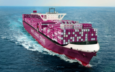 From blue to magenta: shipping company MOL officially part of Ocean Network Express