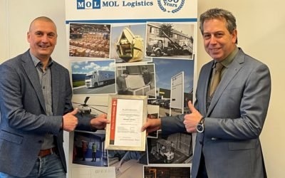 MOL Logistics behaalt ISO 13485 certificering